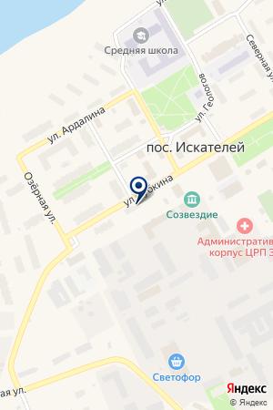 ДЕТСКИЙ САД ГНЕЗДЫШКО на карте Нарьян-Мара