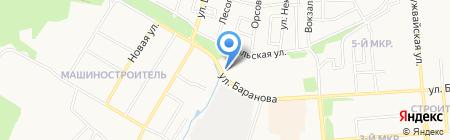 Деталь-Про на карте Ижевска