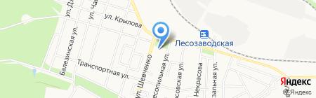 Комплексный центр социального обслуживания населения №3 Ленинского района на карте Ижевска