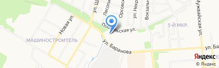 Сервисная компания на карте Ижевска