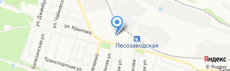 Учебный центр ГПС УР на карте Ижевска