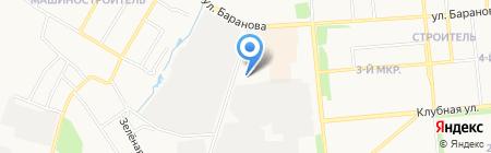 Смайл на карте Ижевска