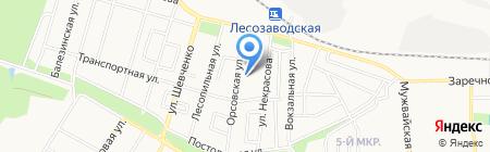 Ижевск на карте Ижевска