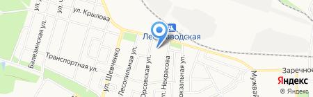 Аско на карте Ижевска