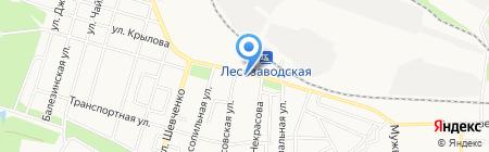 Шинка на карте Ижевска