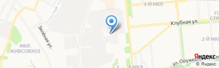 ИжРазбор на карте Ижевска