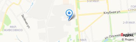Ивару на карте Ижевска