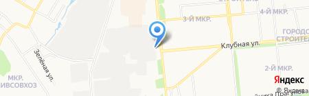 Экоблок на карте Ижевска