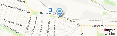 Приют для авто на карте Ижевска