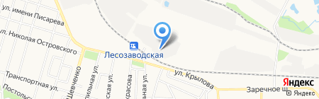 Ижевский завод тепловой техники на карте Ижевска