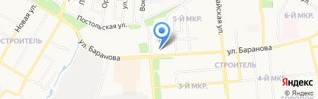 Новые Алгоритмы Бизнеса на карте Ижевска
