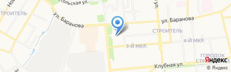 Западно-Уральский банк на карте Ижевска