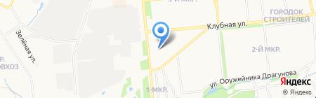 Мировые судьи Ленинского района на карте Ижевска