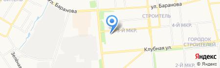 Сакура на карте Ижевска