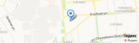 Чистый пух на карте Ижевска