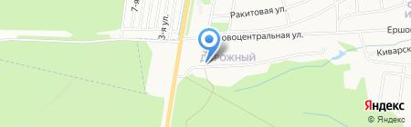 Лагуна на карте Ижевска