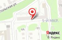 Схема проезда до компании Континент в Ижевске