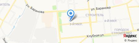 Академия инструмента на карте Ижевска