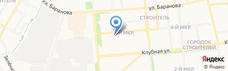 ВАЗ на карте Ижевска