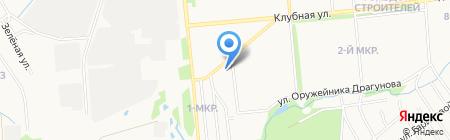 РОСТ на карте Ижевска