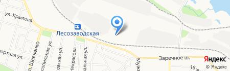 ПМК-411 на карте Ижевска