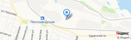 Контур+ на карте Ижевска