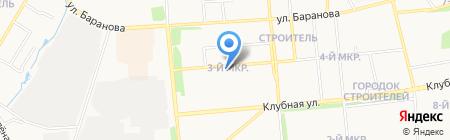 Пчелка на карте Ижевска