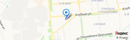 Ключ-Сервис на карте Ижевска
