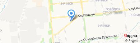 1000 миль на карте Ижевска