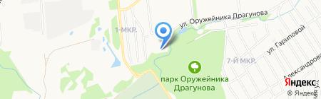 Ромашка на карте Ижевска