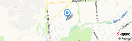 Детский сад №268 на карте Ижевска