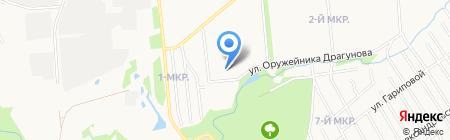 Детский сад №213 на карте Ижевска
