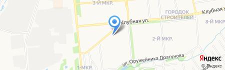Парма на карте Ижевска