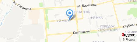 Детский сад №289 на карте Ижевска