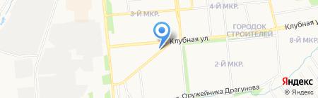 Орбита на карте Ижевска