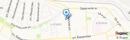 Родник на карте Ижевска