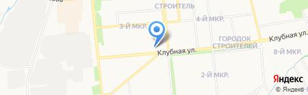 Юла на карте Ижевска