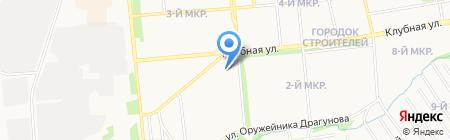Ижавто на карте Ижевска