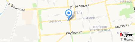 Ля перин на карте Ижевска