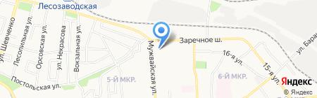 Пятерочка на карте Ижевска
