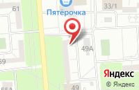 Схема проезда до компании Дизайн-Студия «Евграф» в Ижевске