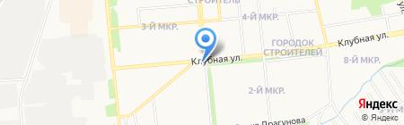 Ярмарка на карте Ижевска