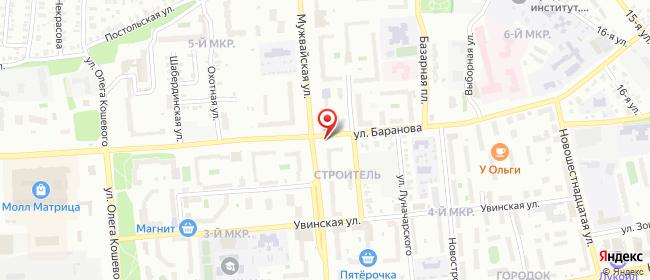 Карта расположения пункта доставки 220 вольт в городе Ижевск
