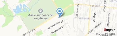 АЗС Александровская на карте Ижевска