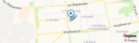 Романтика на карте Ижевска