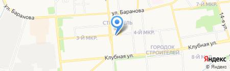 Центр детского творчества Ленинского района на карте Ижевска