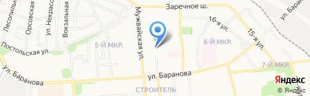 Жрп-Мастер на карте Ижевска