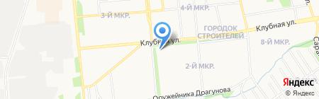 Продукты на перекрестке на карте Ижевска