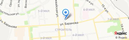 Купеческий на карте Ижевска
