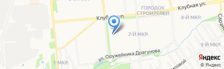 Berenis на карте Ижевска